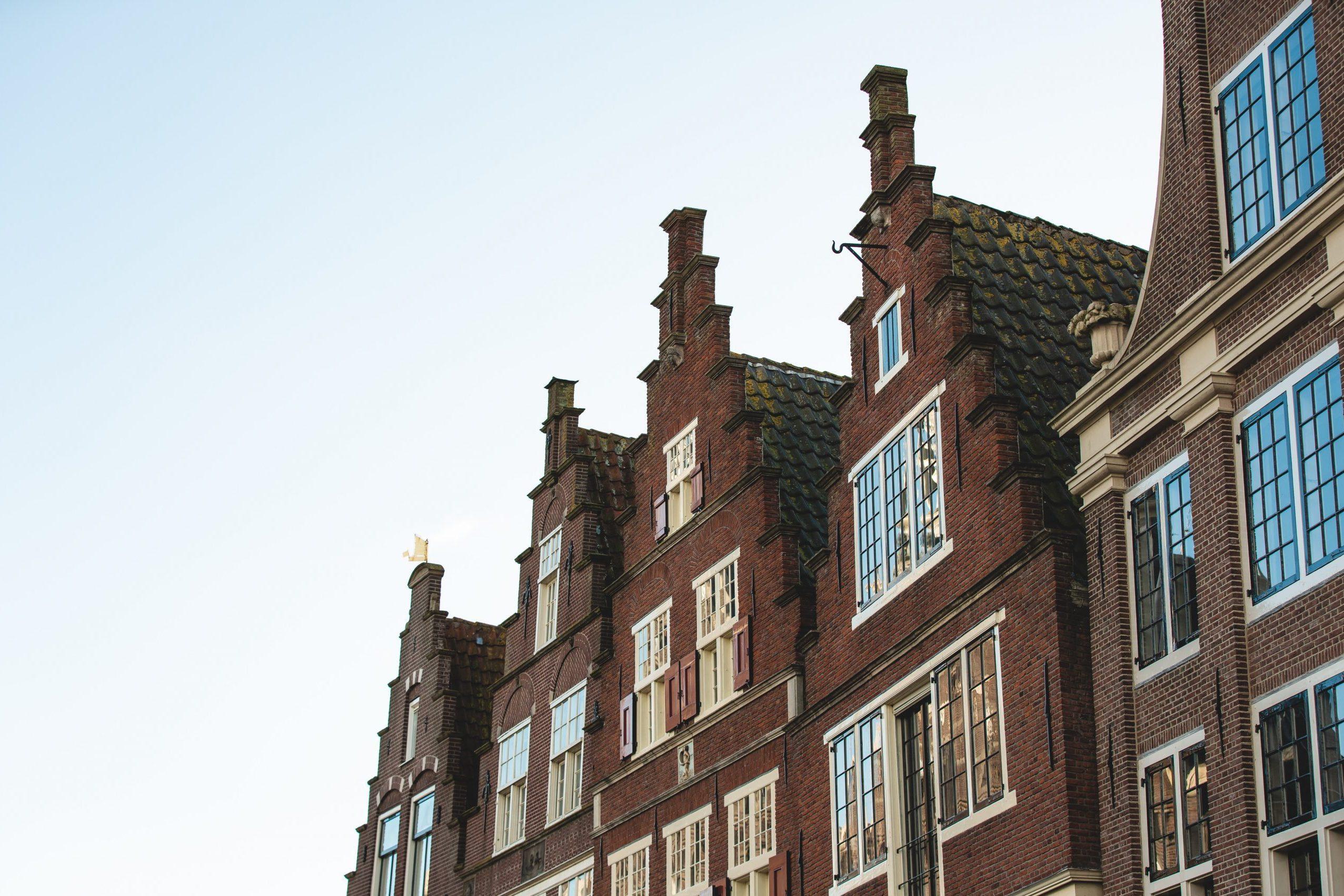 Voorgevel in Hoorn