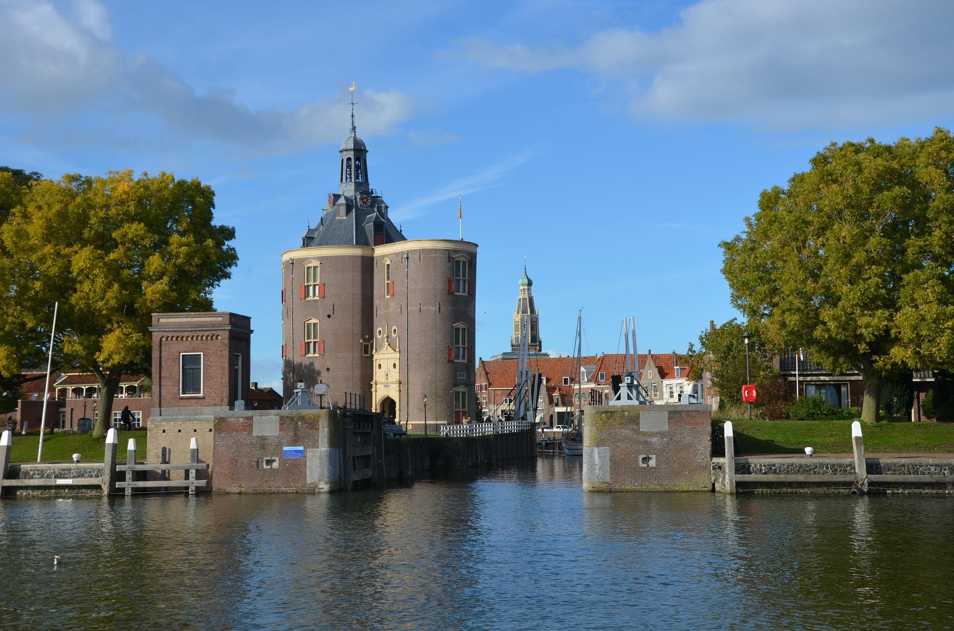 Enkhuizen, een populaire haven in Nederland